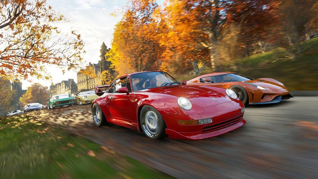 Forza Horizon 4: Xbox Series X upgrade