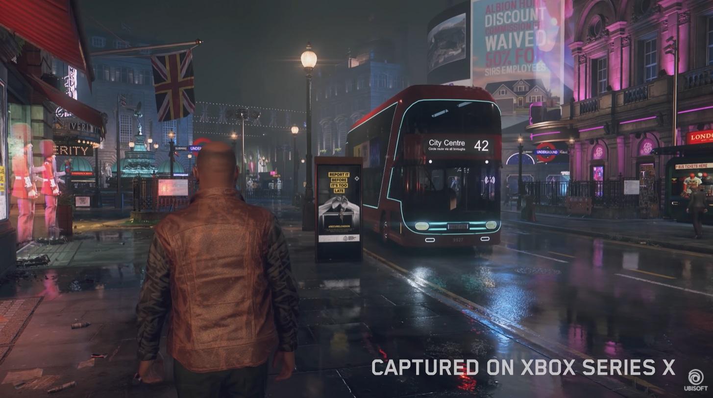 Watch Dogs: Legion on Xbox Series X
