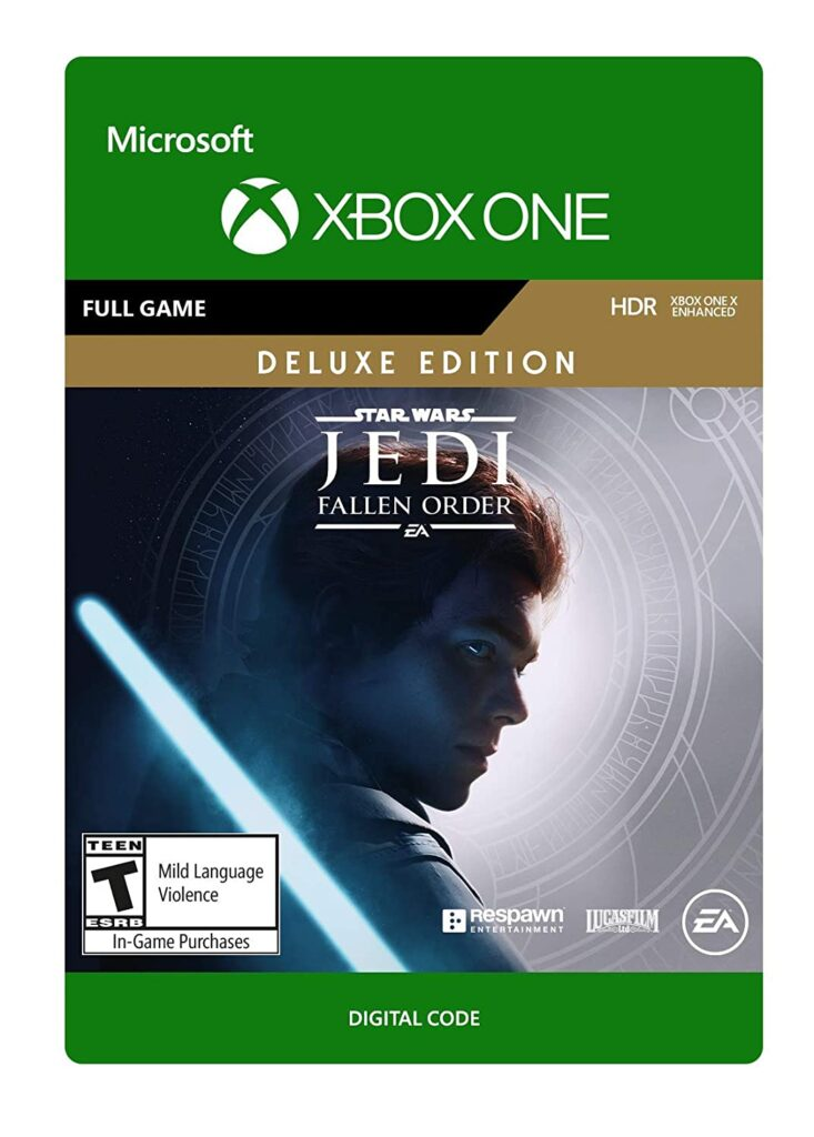 Star Wars Jedi: Fallen Order (Deluxe Edition), $34.99 at Amazon (50% off)