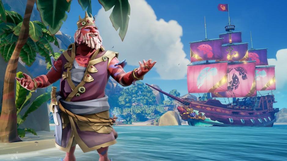 Sea of Thieves on Xbox Series X