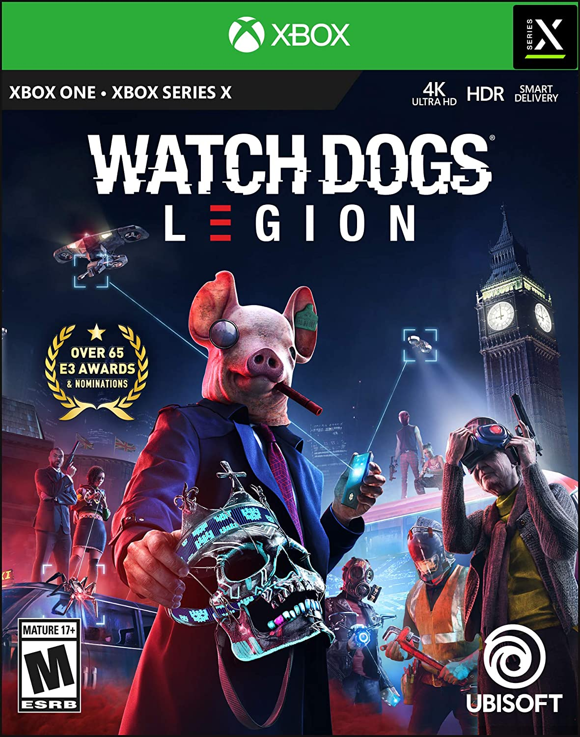 Watch Dogs: Legion, $29.99 (50% off) at Amazon