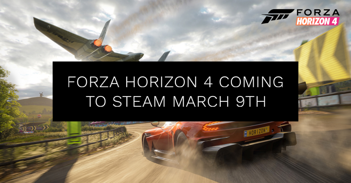Forza Horizon 4 Coming to Steam on on March 9th