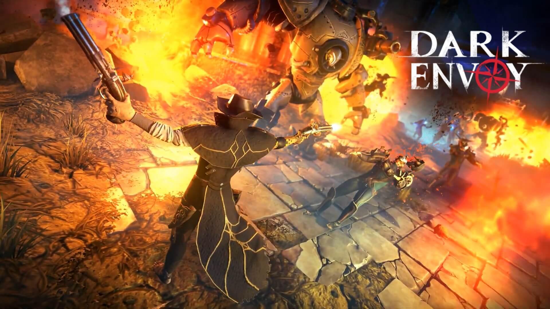 Dark Envoy shares trailer for upcoming sci-fi RPG game
