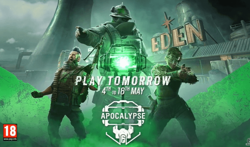 Rainbow Six Siege Launches Limited-Time Apocalypse Event Today
