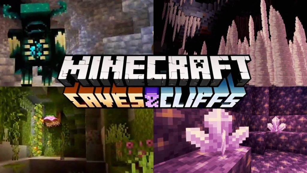Release Date of Minecraft Caves and Cliffs Part 1 on Xbox Announced
