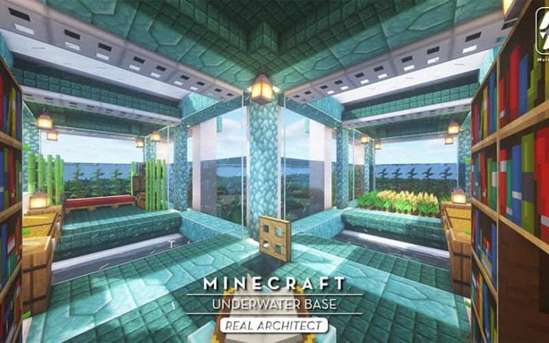 Minecraft Underwater Base Build (Instructions & Materials)