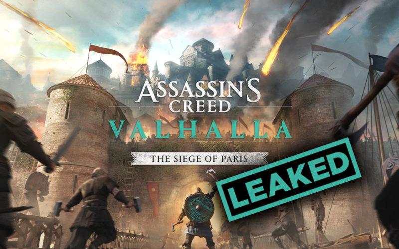 Assassin's Creed Valhalla The Siege of Paris DLC Details Leaked Online