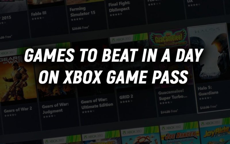 Best Short Games on Xbox Game Pass