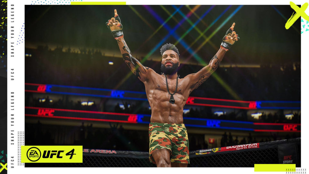 EA Sports UFC 4 on Xbox Game Pass