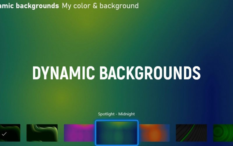 New Dynamic Background Is Now Available on Xbox Series X|S