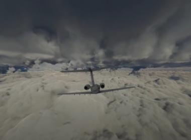 You can Now Fly through Hurricane Ida with Microsoft Flight Simulator