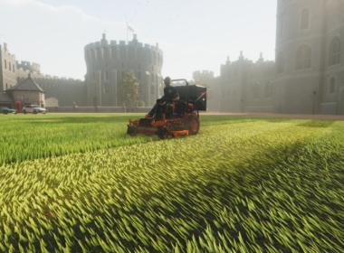 lawn moving simulator
