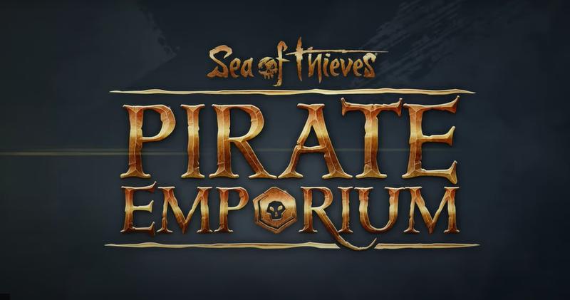 sea of thieves pirate emporium update