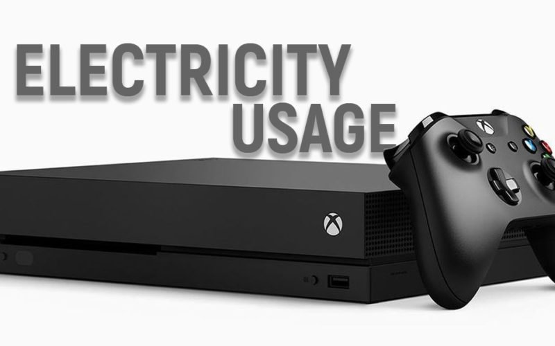 How Much Electricity Will Your Xbox One Use?